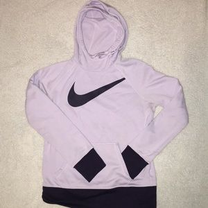 Nike like new thermal fit cowl neck hoodie